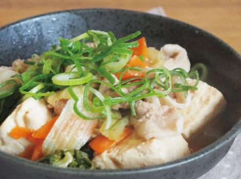 豚と豆腐の煮込み