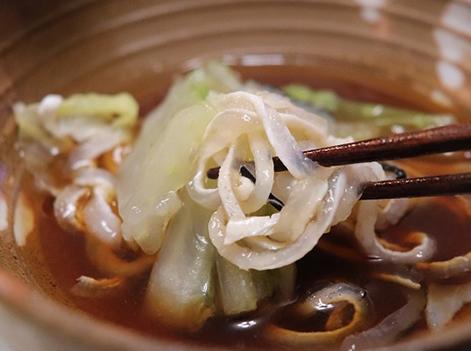 年越しのテッピ蟹白菜鍋