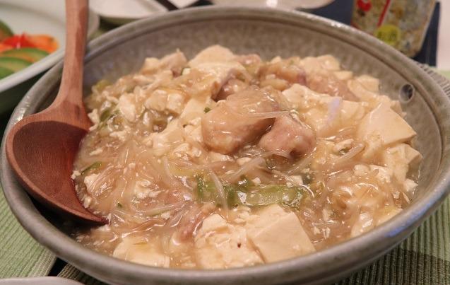 ピリ辛旨の鶏豆腐