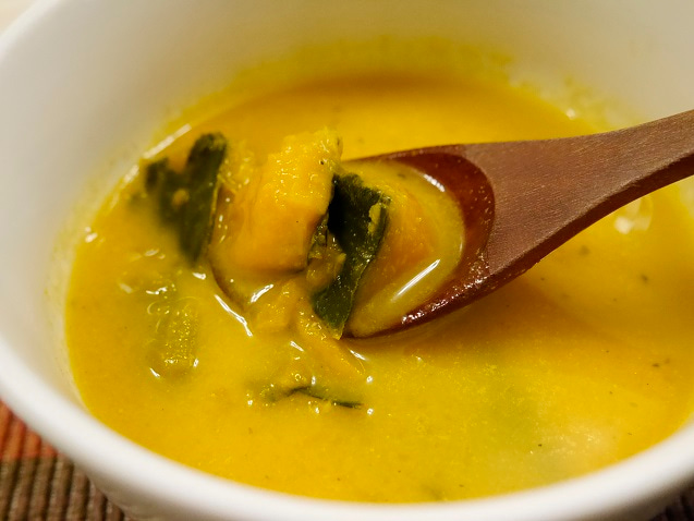 コクかぼスープ