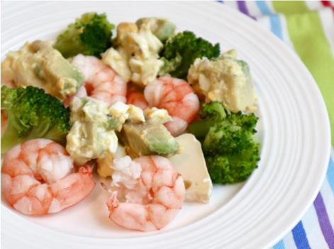 海老のカマンベールのタルタルサラダ