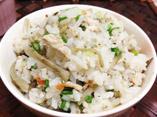だしパックを使用した秋刀魚の炊き込みご飯のレシピ画像