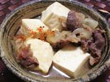 だしパックを使用したやすまる肉豆腐のレシピ画像