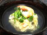 だしパックを使用した豆腐のやすまる蒸しのレシピ画像