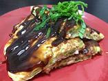 だしパックを使用した大葉といか明太のお好み焼きのレシピ画像